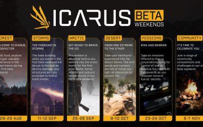 Icarus coming November. Beta begins 28 August